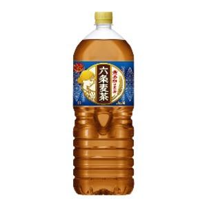 【まとめ買い】アサヒ  六条麦茶 PET 2.0L×6本(1ケース)