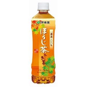 【まとめ買い】伊藤園おーいお茶ほうじ茶ペットボトル525ml×48本(24本×2ケース)