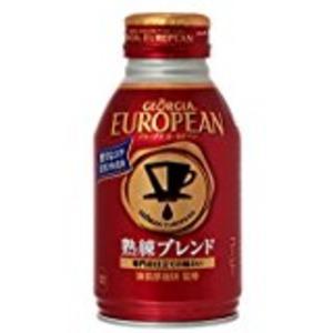 【まとめ買い】コカ・コーラ ジョージア ヨーロピアン熟練ブレンド ボトル缶 270ml×24本(1ケース)