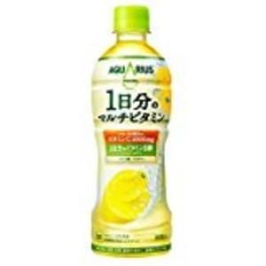 【まとめ買い】コカ・コーラアクエリアス1日分のマルチビタミンペットボトル500ml×24本(1ケース)