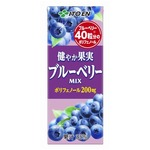 【まとめ買い】伊藤園 健やか果実 ブルーベリーMIX 紙パック 200ml×24本(1ケース)の画像