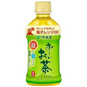 【まとめ買い】伊藤園 おーいお茶 緑茶 電子レンジ対応 ホットPET 345ml×24本(1ケース)