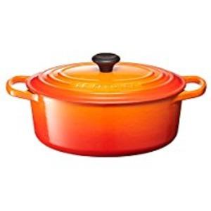 ル・クルーゼ (Le Creuset) シグニチャー ココット・ジャポネーズ 24cm オレンジ