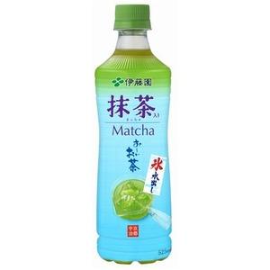 【まとめ買い】伊藤園 氷水出し 抹茶入り おーいお茶 ペットボトル 525ml×24本(1ケース)