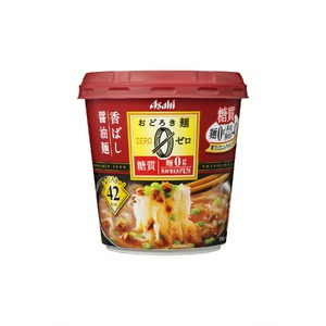 【まとめ買い】アサヒフーズおどろき麺0(ゼロ)香ばし醤油麺24カップ入り(6カップ×4ケース)
