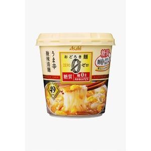 【まとめ買い】アサヒフーズおどろき麺0(ゼロ)酸辣湯麺24カップ入り(6カップ×4ケース)