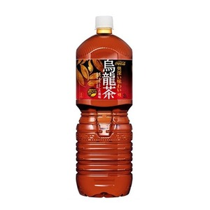 【まとめ買い】コカ・コーラ煌「ファン」烏龍茶ペットボトル2L×12本(6本×2ケース)