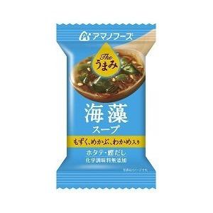 【まとめ買い】アマノフーズ Theうまみ 海藻スープ 4g(フリーズドライ) 60個(1ケース)