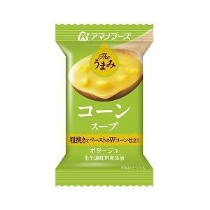 【まとめ買い】アマノフーズ Theうまみ コーンスープ 15g(フリーズドライ) 10個
