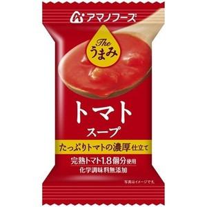 【まとめ買い】アマノフーズTheうまみトマトスープ12.5g(フリーズドライ)10個