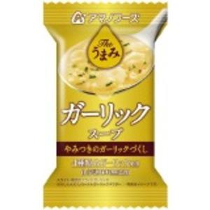 【まとめ買い】アマノフーズ Theうまみ ガーリックスープ 7g(フリーズドライ) 60個(1ケース)の画像1