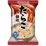 【まとめ買い】アマノフーズ 炙りたらこ雑炊 21g(フリーズドライ) 6個