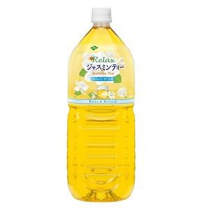 【まとめ買い】伊藤園Relaxジャスミンティー2.0L×6本(1ケース)ペットボトル