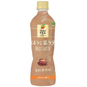 【まとめ買い】伊藤園 TEAs'TEA NEW AUTHENTIC ほうじ茶ラテ PET 500ml×24本(1ケース)