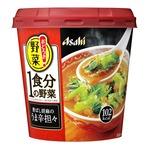 【まとめ買い】アサヒフーズ おどろき野菜 1食分の野菜 香ばし胡麻のうま辛担々 24カップ入り(6カップ×4ケース)
