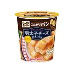 【まとめ買い】ポッカサッポロ じっくりコトコト こんがりパン 明太子チーズポタージュ (カップ) 22.1g×24カップ(6カップ×4ケース)