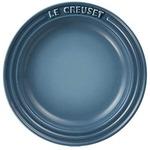 ル・クルーゼ (Le Creuset) ラウンドプレート・LC 15cm マリンブルー