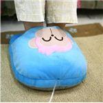 【足下暖房器】あったかスリッパ!冷え性対策!あったかUSB足たんぽ