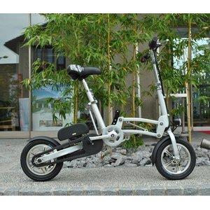12インチ電動アシスト自転車 シマノ製6段変速機 シルバー