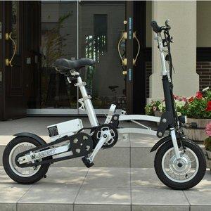 超軽量アルミフレーム 静音・高効率なブラシレスモータ搭載!12インチ電動アシスト自転車!折りたたみ可能でコンパクトな大人気の電動自転車!電動アシストで坂道もラクラク~☆アウトドアや毎日のお出かけ、通勤や通学などに◎プレゼントとしてもおススメ!大注目アイテム!重さわずか18kg、電車持込&車トランク収納等に最適な一台