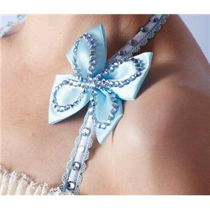キラキララインストーンとパステルカラーの姫風デザイン ホルターネック セクシーランジェリー