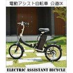 【前カゴ付き】長寿命・静音・高効率なブラシレスモータ搭載!16インチ電動アシスト自転車!