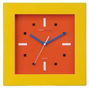 nanoblock(ナノブロック) Wall-clock(ウォールクロック) オレンジ/イエロー NAWC-96903YO - 拡大画像