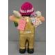 【エケコ人形15cm】光沢ゴールド(金色) モデル(ペルー直輸入) - 縮小画像3