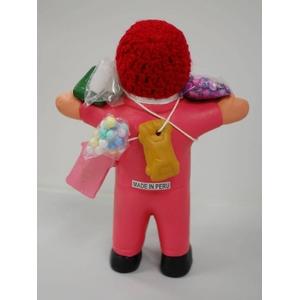 【エケコ人形15cm】【TYPE:2】ピンク色(桃色) 限定モデル女性に人気!(ペルー直輸入)