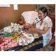 【エケコ人形15cm】ワイルーロのネックレス付、ホワイト(WHITE)VIVASスペシャル・バージョン(ペルー直輸入) - 縮小画像6