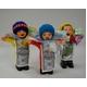【エケコ人形10cmx1体】ミックス色 かわいい小さいサイズのミニエケコ人形(ペルー直輸入)【色指定不可】 - 縮小画像1