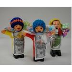 【エケコ人形10cmx1体】ミックス色 かわいい小さいサイズのミニエケコ人形(ペルー直輸入)【色指定不可】