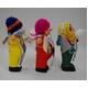 【エケコ人形10cmx1体】ミックス色 かわいい小さいサイズのミニエケコ人形(ペルー直輸入)【色指定不可】 - 縮小画像2