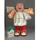 【特大エケコ人形30cm】ペルー製「限定モデル、ビッグサイズのエケコ人形です。」【色などのご指定は出来ません。】商売繁盛の福  - 縮小画像1