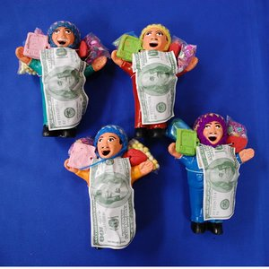 【エケコ人形13cm】限定サイズのエケコ人形13cm、数量限定、色の指定ができません(ペルー直輸入) - 拡大画像