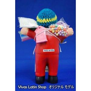 【エケコ人形15cm】レッド(赤)(ペルー直輸入)の紹介画像3