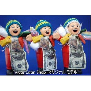 【エケコ人形15cm】レッド(赤)(ペルー直輸入)