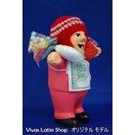 【エケコ人形15cm】【TYPE:1】ピンク色(桃色) 女性に人気!(ペルー直輸入)