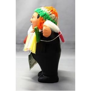 【エケコ人形15cm】 エケコ人形・色はブラック(黒) 当店モデル(ペルー直輸入)