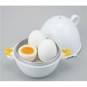 レンジでらくチン ゆで卵 3個用 【2個セット】 - 拡大画像