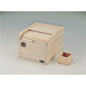 米びつ 桐製 5kg用 - 拡大画像
