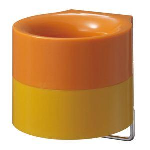 傘ホルダー シングルタイプ I-482 オレンジ - 拡大画像