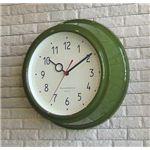 壁掛け時計 Filic グリーン