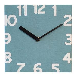 壁掛け時計 Torno ブルー - 拡大画像