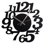 壁掛け時計 鋼の匠 イタリティック 黒