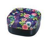 たつみや お重 お弁当箱 2段重 楽園紫