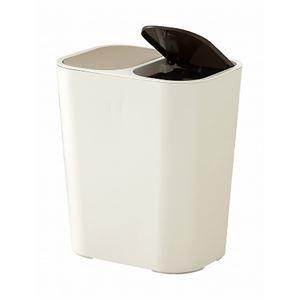 アスベル 分別ゴミ箱 ルクレール ホワイト