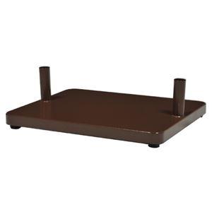 ケイジーワイ ポストスタンド 自立ベース チョコレート AB-1