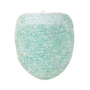 ヨコヅナ(旧:横綱工業) トイレフタカバー キャンディフロス 洗浄便座用 ブルー