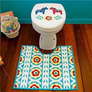オカトー HOKUORU トイレ2点セット U型O型用 ダーラナホース - 拡大画像